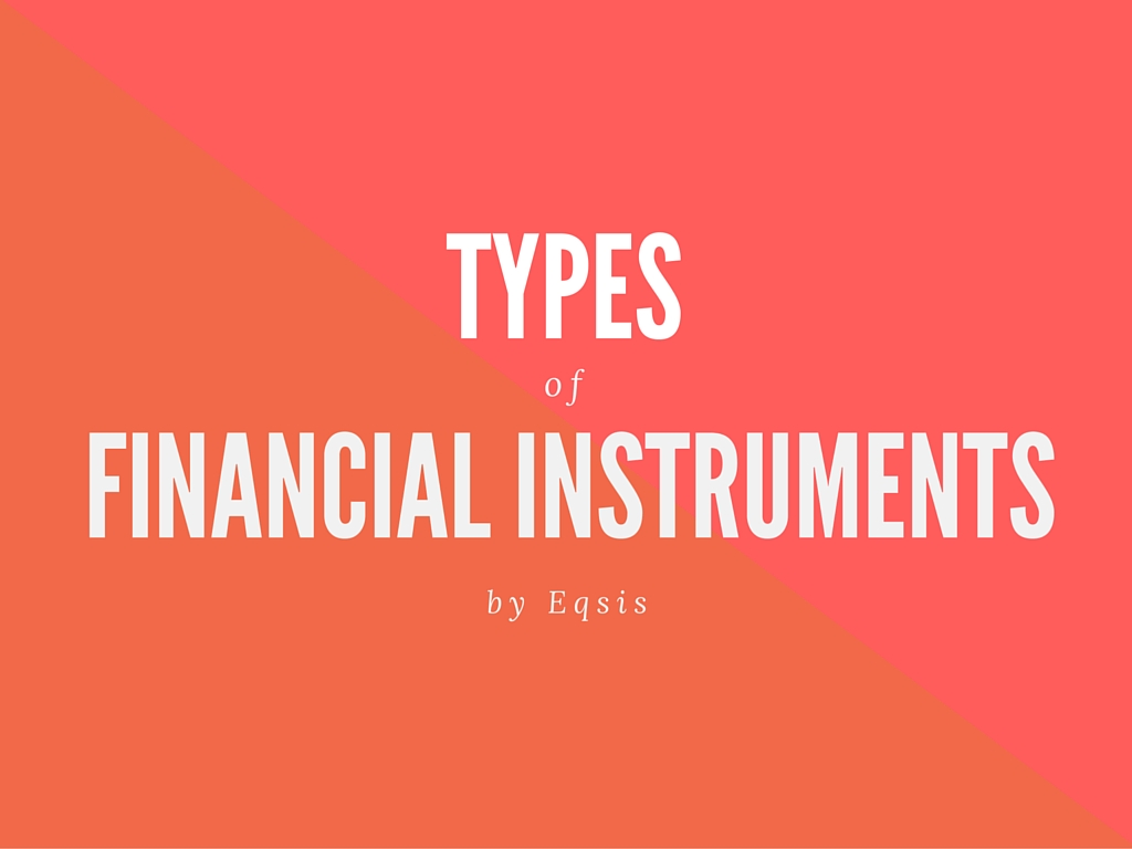 Types of financial instruments in India
