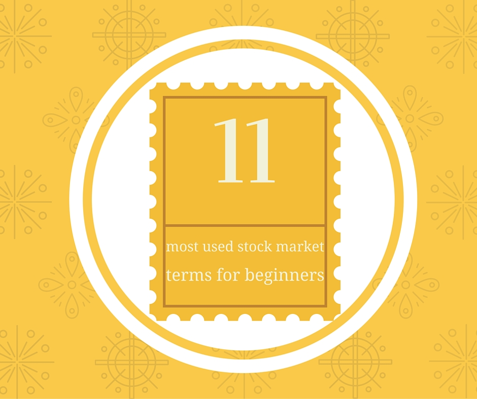 Basic stock market terms