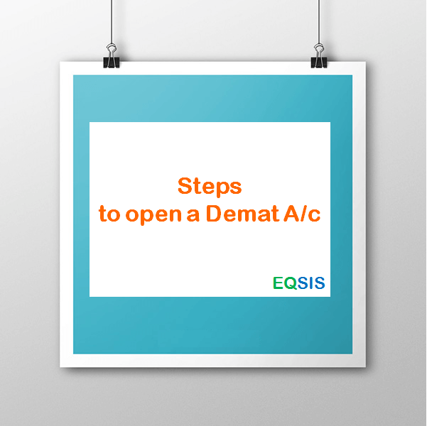 Steps to open a Demat A/c