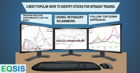 3 Most popular ways to identify stocks for intraday trading