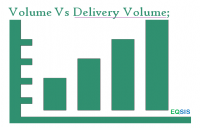 Volume Vs Delivery Volume;
